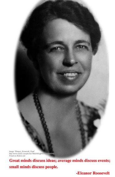 Real Women of Genius - Eleanor Roosevelt