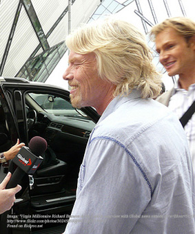 Modelling Genius - Richard Branson