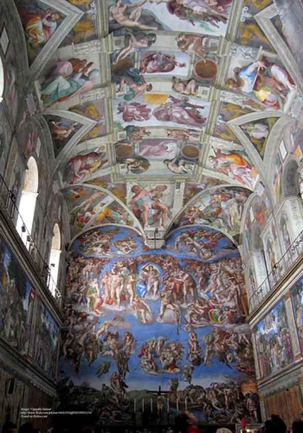 Real Men of Genius - Michelangelo