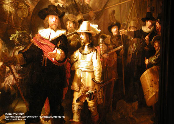 Real Men of Genius - Rembrandt
