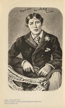 Real Men of Genius - Oscar Wilde